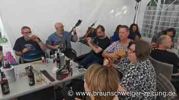 Session mit Irischer Musik am Eixer See