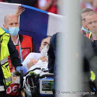 Deense voetballer Eriksen stabiel en naar ziekenhuis gebracht, nadat hij gereanimeerd werd op veld