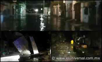Tormenta deja tres heridos y árboles caídos en Ciudad del Carmen, Campeche | El Universal - El Universal