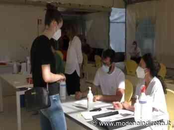 Carpi, l'open day con Moderna: tanti i giovani. VIDEO - modenaindiretta.it