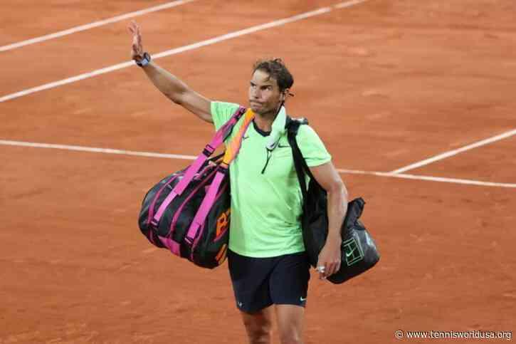 Rafael Nadal after loss: 'I won't play Mallorca, and I'm not sure about Wimbledon'