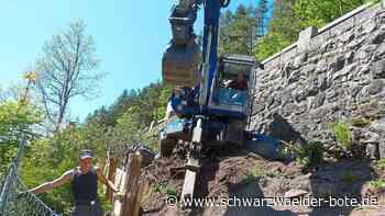 Stützmauer wird saniert - B 33 bei Triberg halbseitig gesperrt - Schwarzwälder Bote
