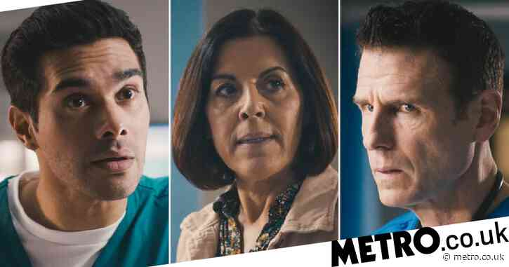 Casualty review with spoilers: David accuses Rosa of poisoning Ollie in shocking twist
