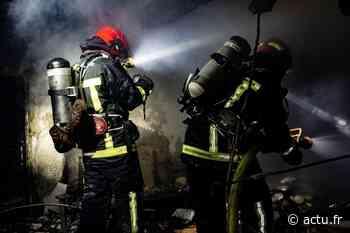 Val-d'Oise : incendie dans un bâtiment industriel à Domont - actu.fr