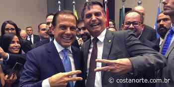 """""""Canela fina e sunga apertada"""", diz Bolsonaro a Doria, que rebate: """"Acorda sonhando com minha sunga"""" - Jornal Costa Norte"""