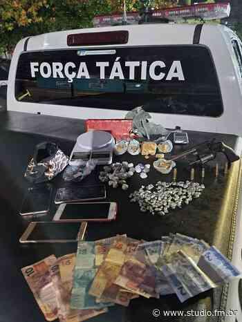 Brigada Militar prende traficante com drogas, arma e munições em Canela - Rádio Studio 87.7 FM   Studio TV   Veranópolis