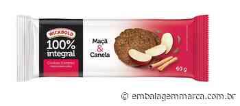 Wickbold lança cookies integrais de maçã e canela - EmbalagemMarca