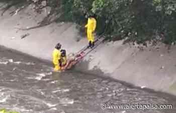 Rescatan cadáver del río Medellín - Alerta Paisa