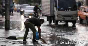 Aguaceros dejan fuertes inundaciones y trancones en Bogotá y Medellín - infobae