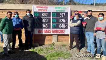 Municipios del Maule inician campaña para eliminar el impuesto a la bencina