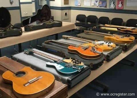 Santa Cruz police recover $225K in stolen vintage guitars
