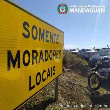 Decisão judicial bloqueia saída da Estrada Terra Roxa a partir da 0h desta sexta-feira (11) - Mandaguari Online