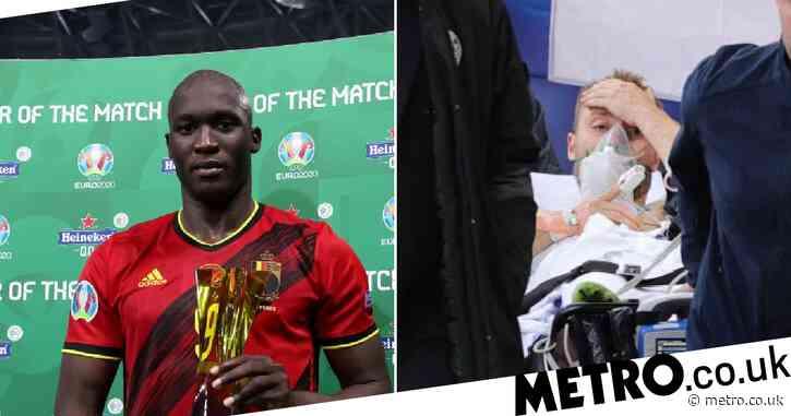 'Scared' Romelu Lukaku 'cried a lot' after Inter Milan team-mate Christian Eriksen collapsed at Euro 2020