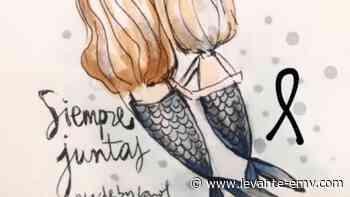 Polémica por el dibujo de las sirenas que representan a las niñas de Tenerife - Levante-EMV