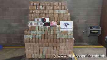 Receita faz a maior apreensão de cocaína do ano em Rio Grande - Diário Popular