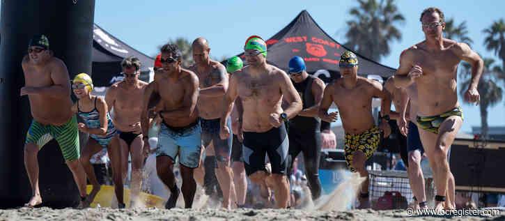 Huntington Beach pier swim marks 70 years