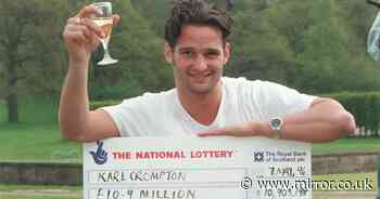 'Eligible bachelor' lotto winner back at work after split from his wife