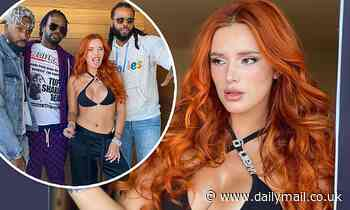 Bella Thorne places much of her jaw-dropping form on full display in a set of Instagram photos