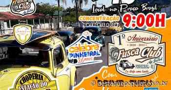 Fusca Club Pinheiral promove Drive Thru Solidário - Destaque Popular