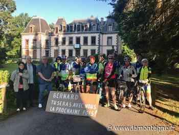 Rando itinérante pour le club des Monédières d'Ussel - La Montagne