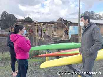 Equipo de Canotaje Promesas Chile recibió embarcaciones de alta gama - Diario El Heraldo Linares