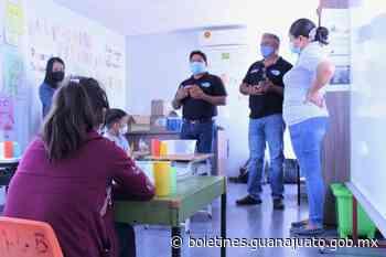 Docentes de Guerrero visitan Centros Escolares de Educación Migrante en Dolores Hidalgo. - Noticias Gobierno del Estado de Guanajuato