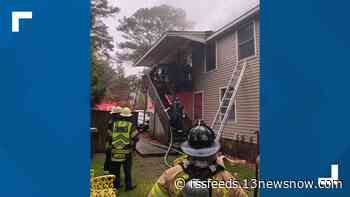 Three people displaced following house fire in Williamsburg