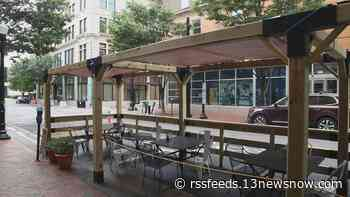 Outdoor dining spaces will stick around in Downtown Norfolk, Ghent