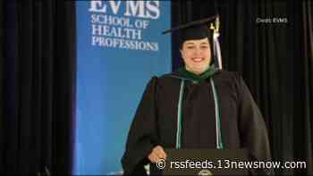 'I've learned so much'   EVMS grad overcomes life challenge to accept her diploma