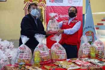 Qali Warma entrega 41 t de alimentos a Cerro Colorado, Miraflores y Mariano Melgar - Agencia Andina