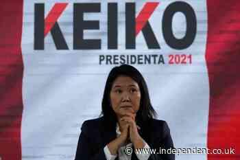 Peru's Fujimori repeats election fraud claim, trusts no jail