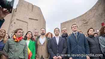PP, Vox y Cs vuelven a Colón para rechazar los indultos - La Vanguardia