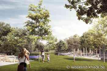 'Park Gedempte Zuiderdokken in Antwerpen klaar in zomer 2024' - Weekend Knack
