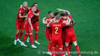 Titelanwärter Belgien startet mit Sieg