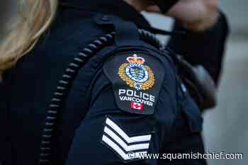 Vancouver police officer charged with assault during an arrest in 2019. - Squamish Chief