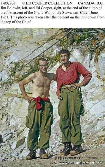 Ed Cooper, 60 years after climbing the Grand Wall - Squamish Chief