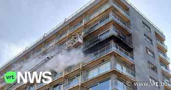 Brand op Zeedijk Middelkerke: appartement op zesde verdieping volledig vernield - VRT NWS