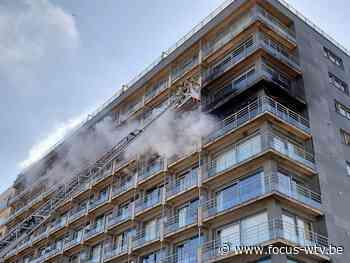 Brandweer rukt uit voor flatbrand in Middelkerke - Focus en WTV