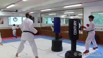 Nechako Karate Club continues to fight despite COVID kickback - CKPGToday.ca