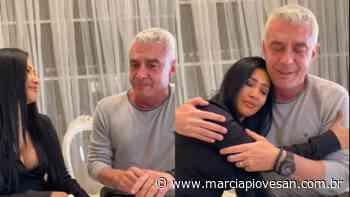 Alexandre Correa chora ao falar do apoio de Simaria Mendes durante quimioterapia - Marcia Piovesan