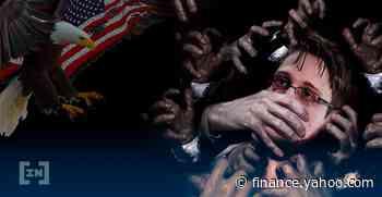 Edward Snowden Auctions NFT Titled 'Stay Free' on Foundation Platform - Yahoo Finance