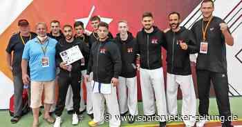 Karate-Kämpfer des Kaiten-Teams St. Wendel/Saarwellingen im DM-Halbfinale - Saarbrücker Zeitung