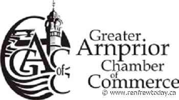 Arnprior Chamber excited by re-opening opportunities - renfrewtoday.ca