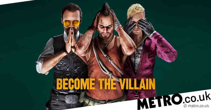 New Far Cry 6 trailer shows you playing as Vaas, Pagan Min, and Joseph Seed