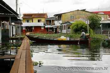 Parintins. Nos últimos 10 dias, nível do Rio Amazonas apresenta queda de 7 cm - Alvorada Parintins