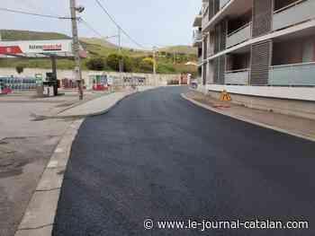 Port-Vendres/ Réfection de la voirie de l'avenue Marius Demonte - LE JOURNAL CATALAN