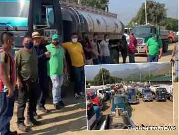 Transportadores están represados en Yumbo, dicen que si no hay solución habrá desabastecimiento en Cali, Cauca y Nariño - TuBarco