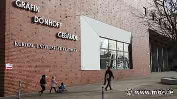 Corona Lockerungen Universität: Noch wenig Präsenz an der Viadrina in Frankfurt (Oder) - moz.de
