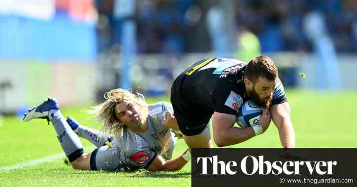 Exeter secure home play-off semi-final as thrilling comeback sinks Sale - The Guardian