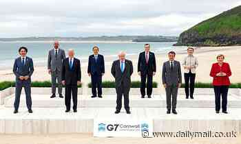 G7 leaders join forces to tackle China's growing hold over poorer countries